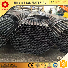 black iron welded carbon pipe erw steel pipe water transport schedule 40 black round steel pipe for construction