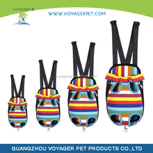 Lovoyager new soft canvsa dog front carrier bag for running