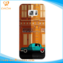 Phone accessories mobile case buildings car design waterproof 5.5 inch mobile phone case