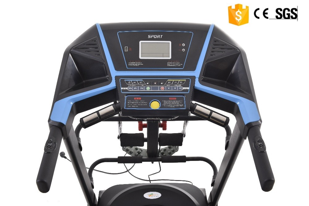 2016 DC motorized 2.0 hp treadmill fitness equipment