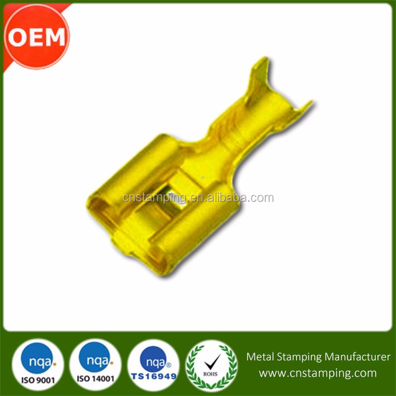Supply Customized Precision female spade fdd disconnectable terminal
