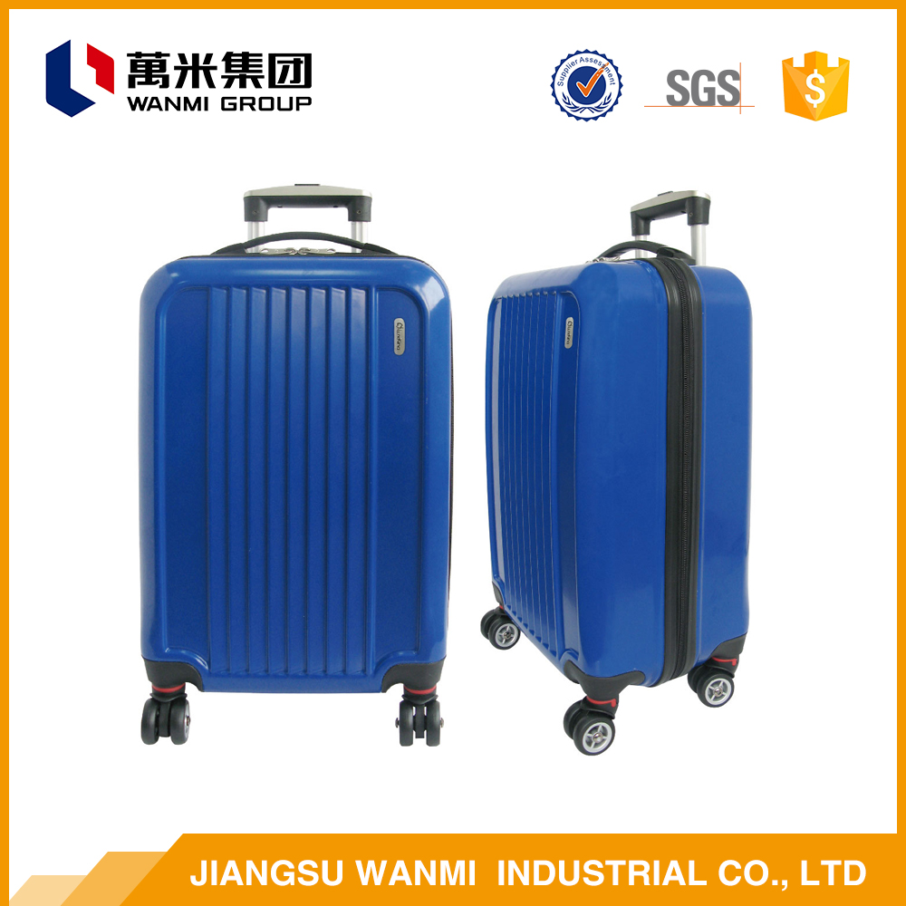 2016 new comfortable abs travel fancy luggage bag sets