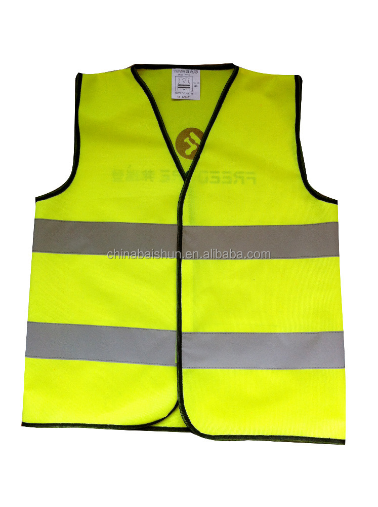 EN471 warming led reflective safety clothes with 3m tape