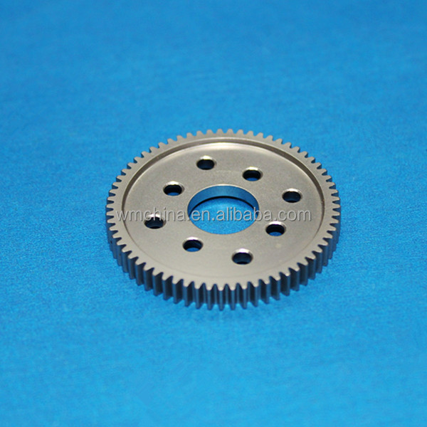 China outsourcing cnc metal parts / low volume cnc machined parts