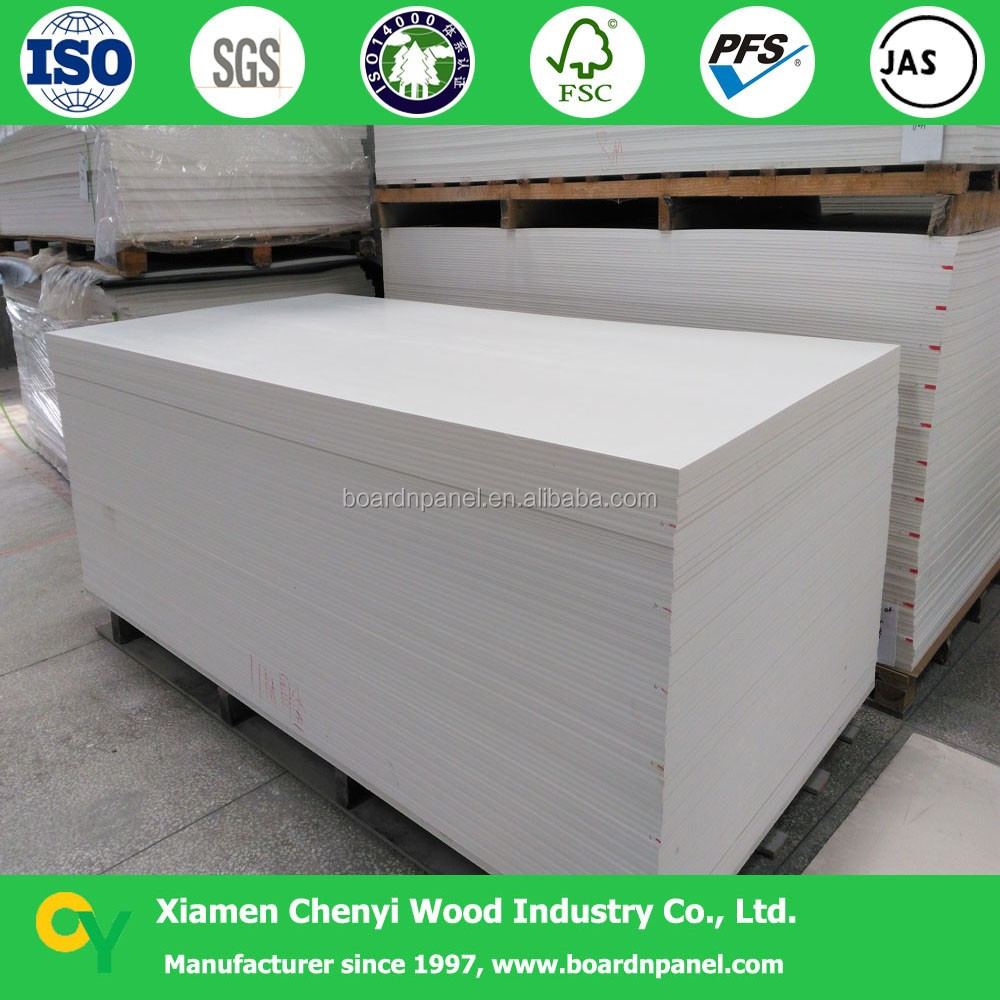 thin pvc plastic rigid foam sheet for sign board
