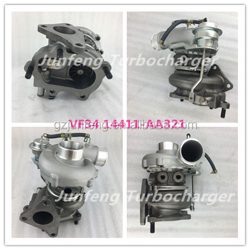 VF34 Turbo 14411AA321 VA660060 EJ25 Engine Turbocharger for Subaru Impreza WRX STI EJ20