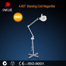 A-607 hand free lighted magnifying stand,page size lighted magnifier