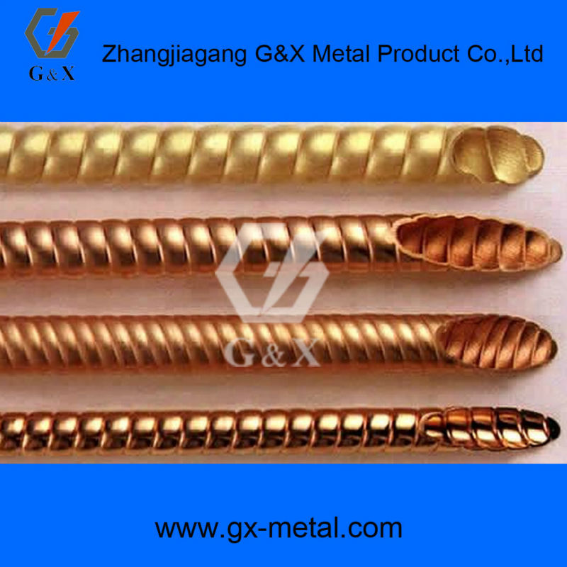 electrode brass & copper tube