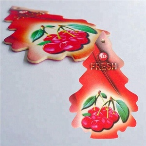 Customized Design Coffee Scented Paper Air Freshener for Promotional Gifts