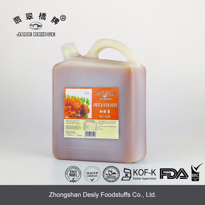 High quality sweet sour sauce for restaurant