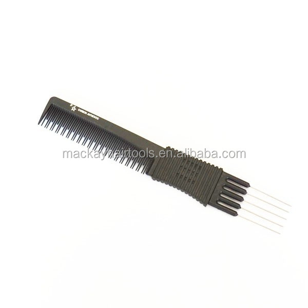 salon barber carbon bamboo comb