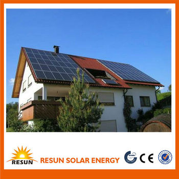 Complete set 5000w solar power energy system for home or industry use best price