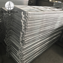 High Grade Metal Plank/Steel walk board/Scaffolding Hook Plank for scaffolding system factory with hook