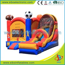 GMIF6224 cheap childrens bouncy castles inflatable slide football style