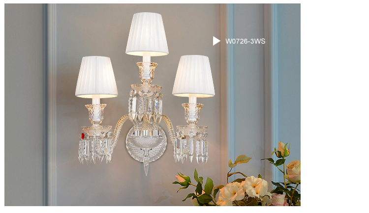 Baccarat Style Luxurious Chandelier with Replica Crystal