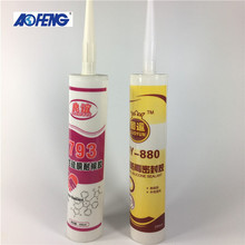 Hot Sale glass window acetic silicone sealant for door seals decoration