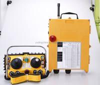 F24-60 12v 24v wireless remote joystick control for tower crane and concrete pump