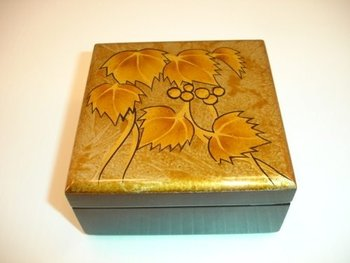 Bamboo Natural Lacquer jewelry Box05
