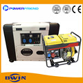 5kw mini diesel genset electric self start generator soundproof
