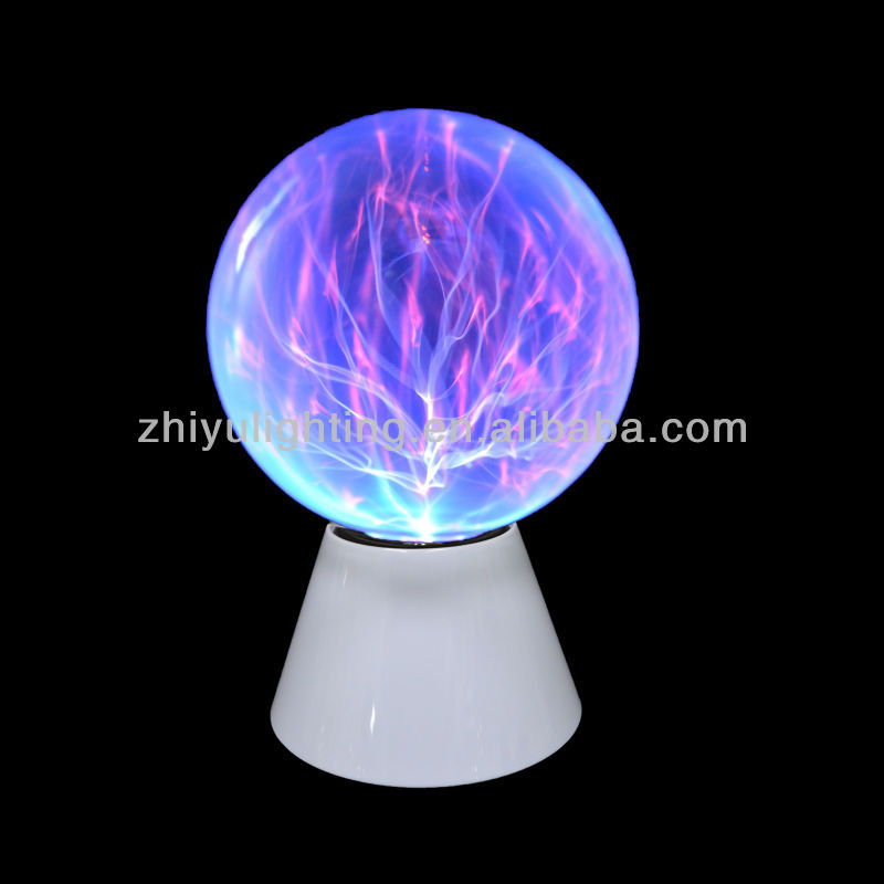2013 hottest charming family decoration gift 8 inch plasma touch lamps