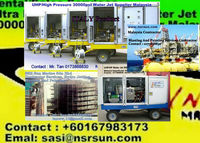 Waterjet Contractor, High Pressure 500 bar to 3000 bar Waterjet Equipment Supplier/Sales Malaysia