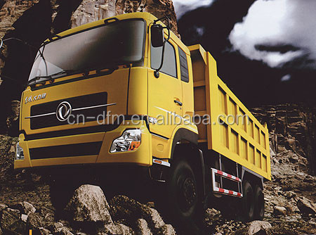China top brand and super star dump truck/light tipper truck/boom truck Dongfeng Diesel Euro 3 210hp Dump Truck