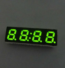 New design! green 4 digits 7 segment led digital display