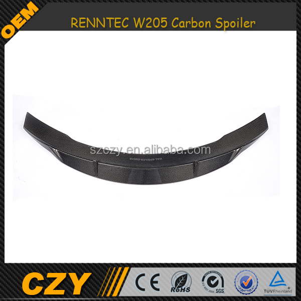 Auto Tuning Carbon Fiber Rear Spoiler for Mercedes W205
