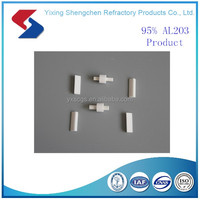 Good resistance to high heat resistant alumina ceramic parts