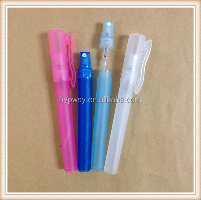 Hot sale 6ml plastic pen perfume atomizer