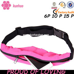custom fashion pink runner belt