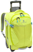 High quality kids trolley school backpack with wheels