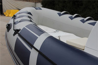 2016 CE Approved China 520 RIB PVC/Hypalon Inflatable RIB Boat for Sale!