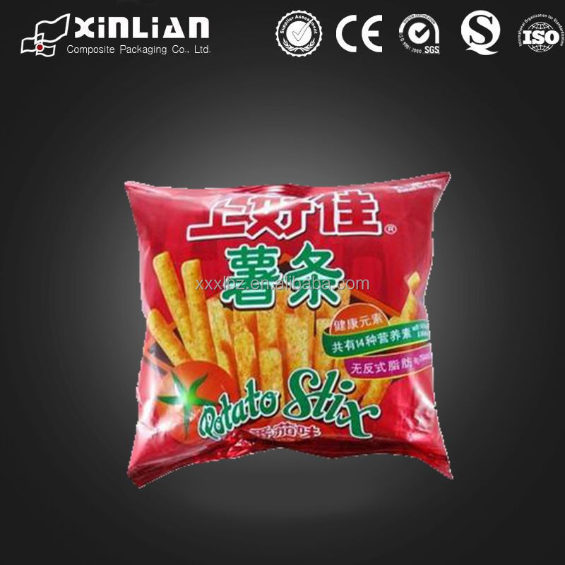 custom printing plastic air tight fast food packaging