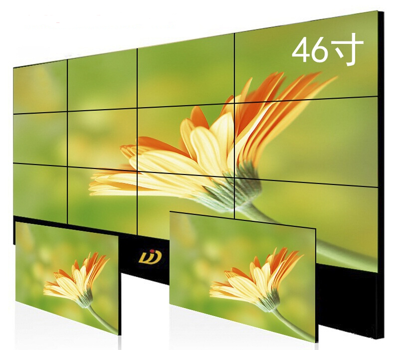 Support 4K bezel 55 inch 3*4 3.5mm splicing lcd video wall