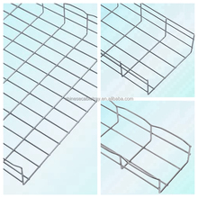 New design Electro Galvanized flexible cable trayCable Tray Price List/wire mesh cable tray
