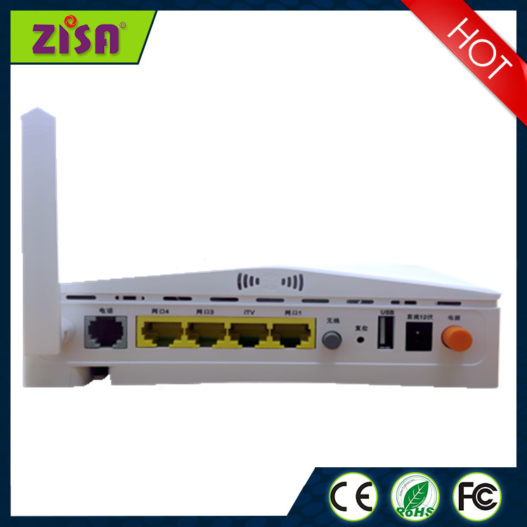 Optical Network Unit 4FE+VOIP+WIFI EPON ONU