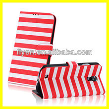 Manufacture Wholesale 2013 Brand New Hot Sell for Samsung S4 Galaxy i9500 IV Wallet Leather Case Phone Accessories Zebra Stripe