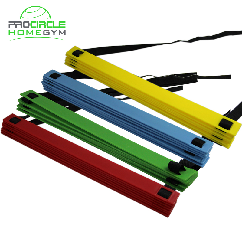<strong>Football</strong> &amp; Soccer Quick Flat Rung Agility Ladder With Carry Bag Training Equipment