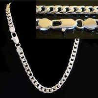 Mens 925 Necklace/Chain Wholesale, Joblot Of 10! **Great For Retail!!**