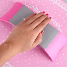 Silicone Nail Art Mat Hand Arm Rest Nail Pillow Manicure for Salon tattoo arm rest stand