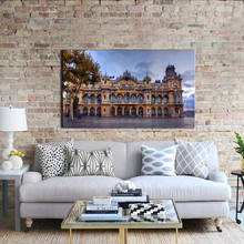 LK124 Spain Barcelona Famous Landscape Wall Art Modern Pictures Print/HandmadeOn Canvas Paintings For Home Bar Hub Hotel Restaur