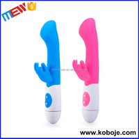 Fast delivery 10 speed silicone best selling bullet battery rabbit style vibrator