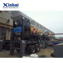 Factory price mobile rock crusher plant , mobile rock crusher cost