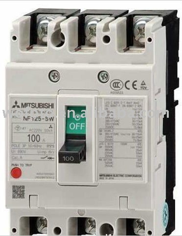 NF125-CW MCCB Moulded Case Circuit Breaker
