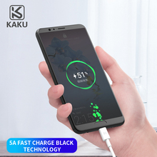 KAKU 2019 <strong>Mobile</strong> Phone Cable 5A USB To Type-<strong>C</strong> Fast Charging 1.2m Charger Data Cable For Huawei Mate9 <strong>10</strong> Pro P10 P20
