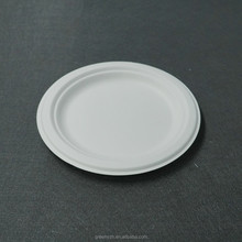 Biodegradable tableware bagasse bamboo plate