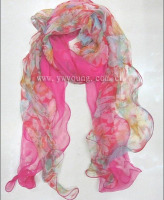 hot sale wholesale pretty fashion newest ladies silk shawl