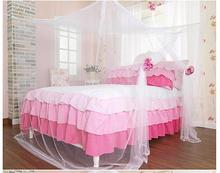 Rectangular Mosquito Net with Foldable Iron Ring