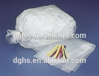Hot selling disposable ice bag, plastic ice cube bag, disposable ice cooler bag